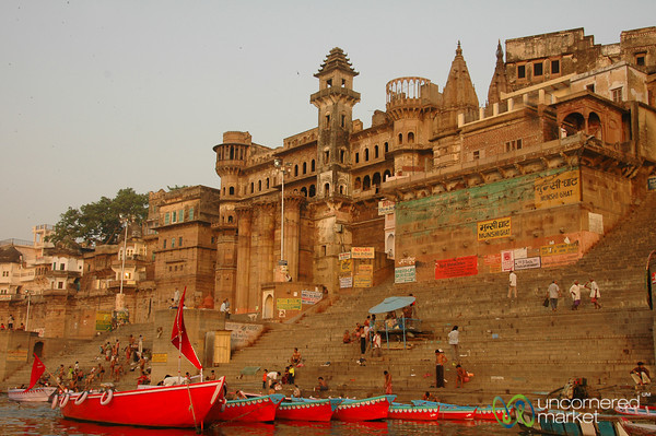 Munshi Ghat at Dawn - Varanasi, India