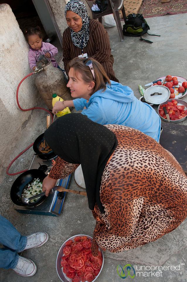 Making Lunch Together - Zikra Initiative, Jordan