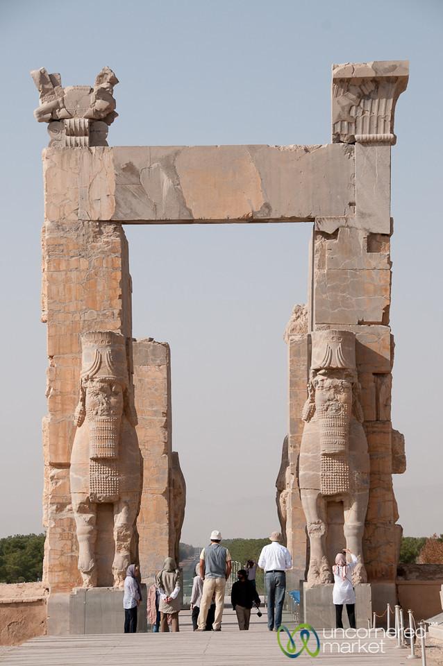 Gates of All Nations at Persepolis, Iran