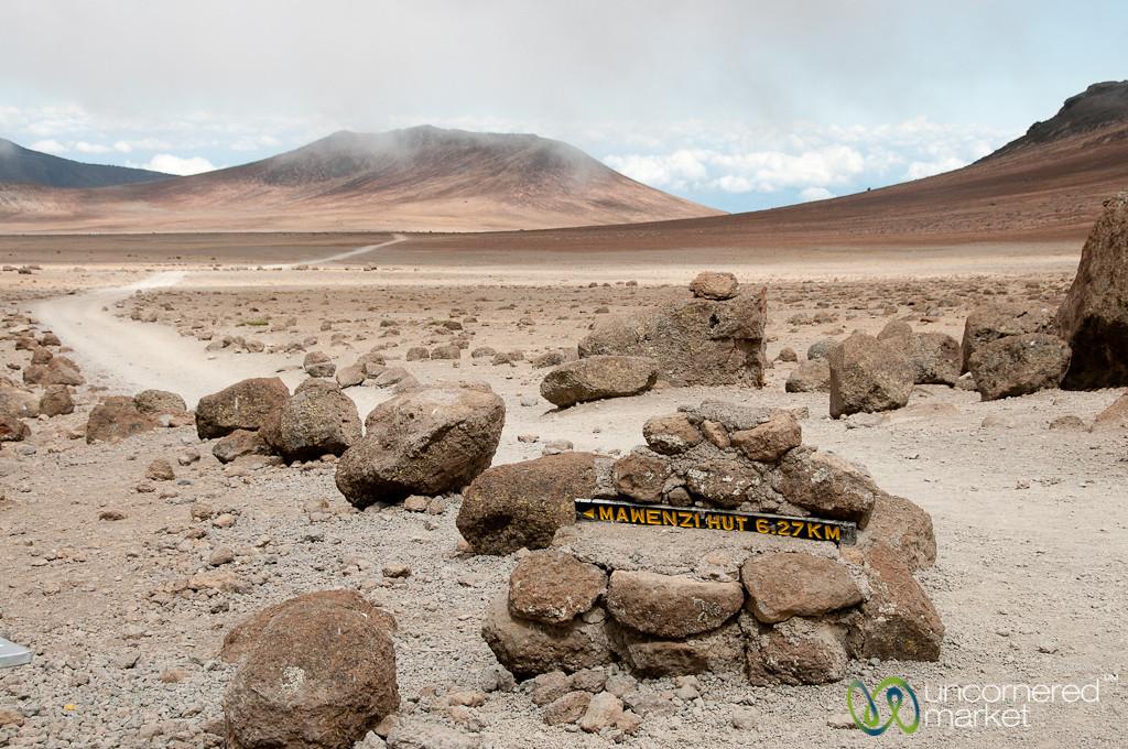 Mountain Trails - Mt. Kilimanjaro, Tanzania