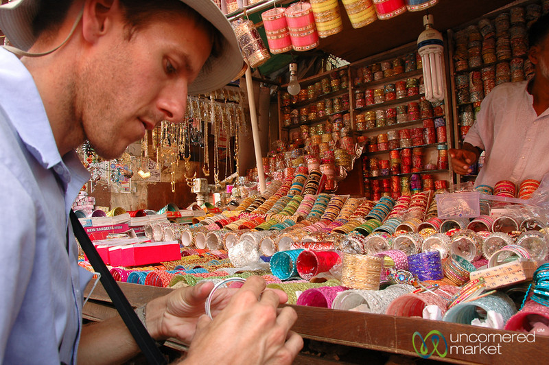 Picking Out Bangles - Kolkata, India