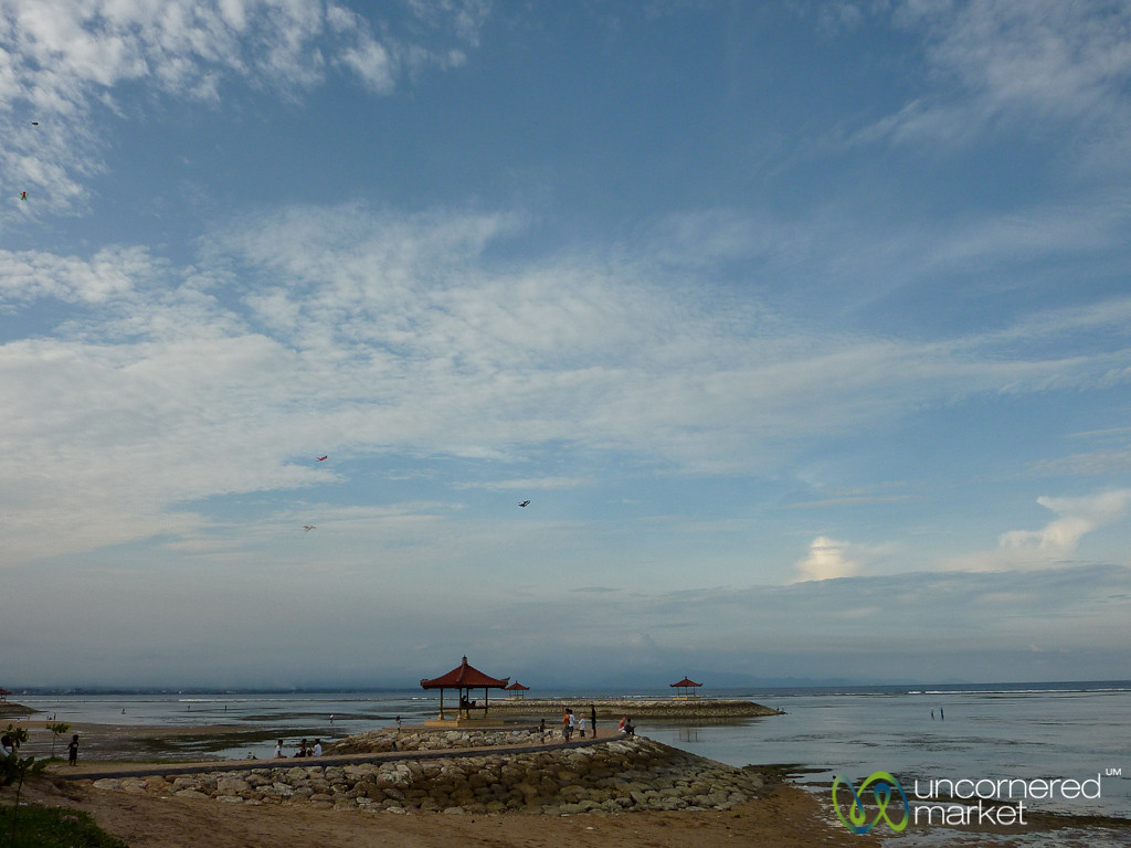 Sanur Beach in Late Afternoon - Bali, Indonesia