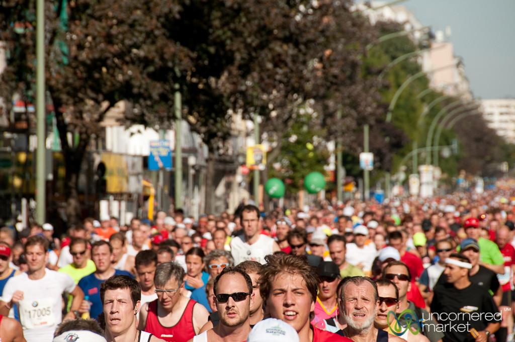 Berlin Marathon Through Kreuzberg