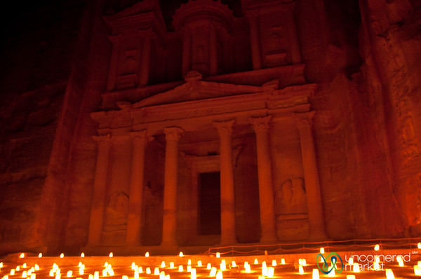 Petra By Night - Jordan