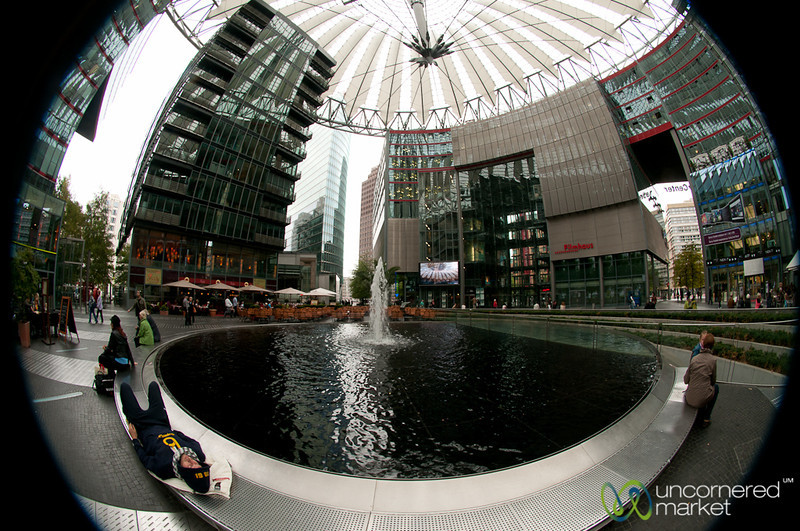 Potsdamer Platz, Sony Center - Berlin