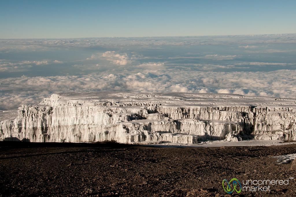 Glaciers Above the Clouds - Mt. Kilimanjaro, Tanzania