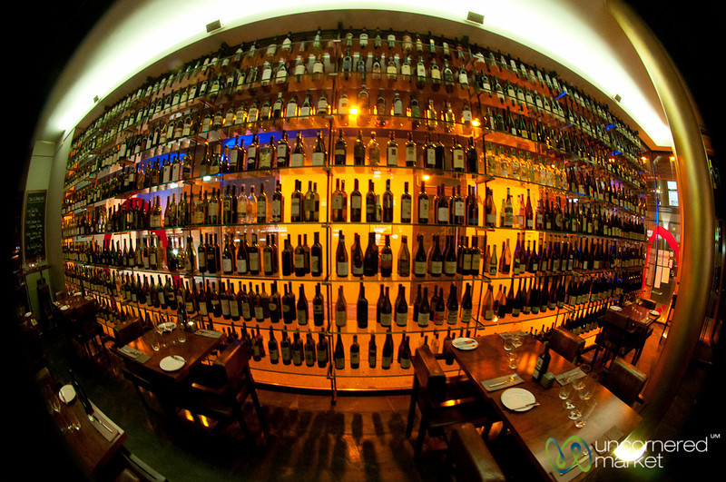Rutz Restaurant Fisheye View - Mitte, Berlin