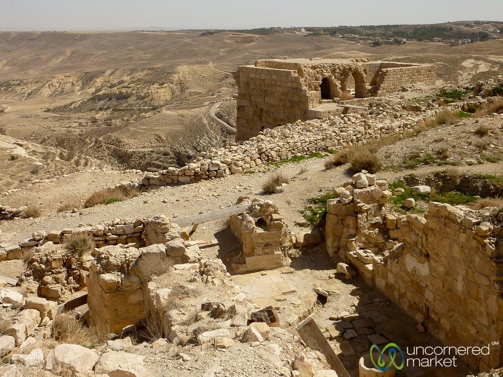 Shouback Castle, a Crusader Castle - Jordan Crusader Castle - Jordan