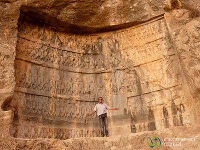 Reliefs at Bishapur - Iran