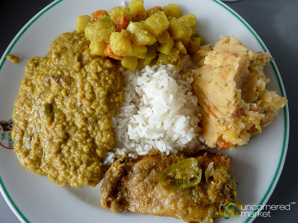 Bangladeshi Feast for Lunch - Sundarbans, Bangladesh