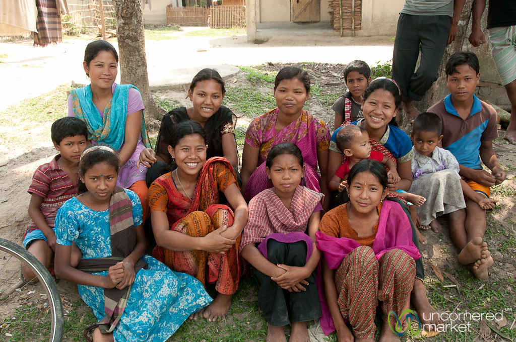 Garo Village Kids - Srimongal, Bangladesh