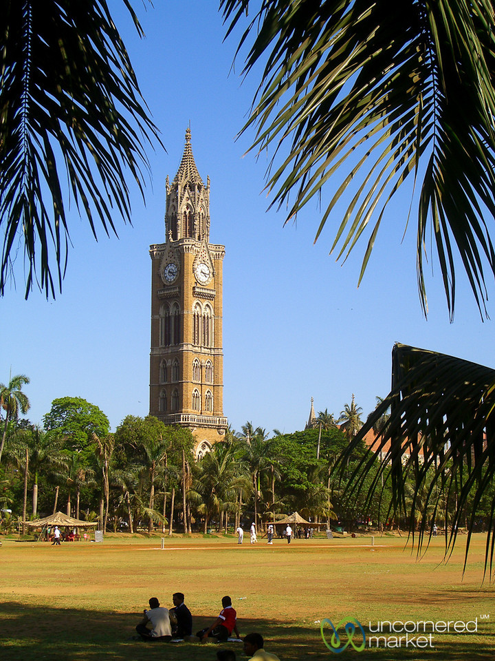 Rajabai Clock Tower Along the Maidens - Mumbai, India