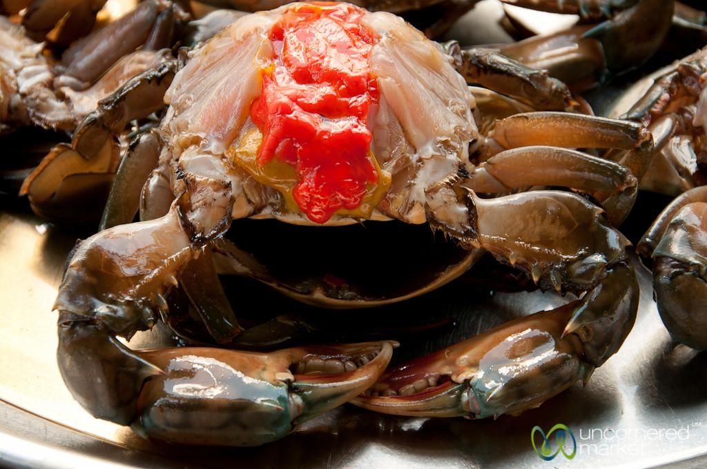 Colorful Crab Insides - Bangkok, Thailand