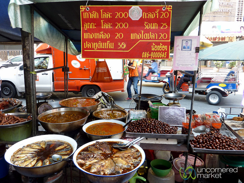 Seafood and Curry Stand - Bangkok, Thailand