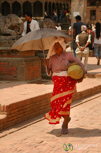 Protection from the Sun - Patan, Nepal