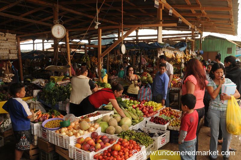 La Esperanza Market - Honduras
