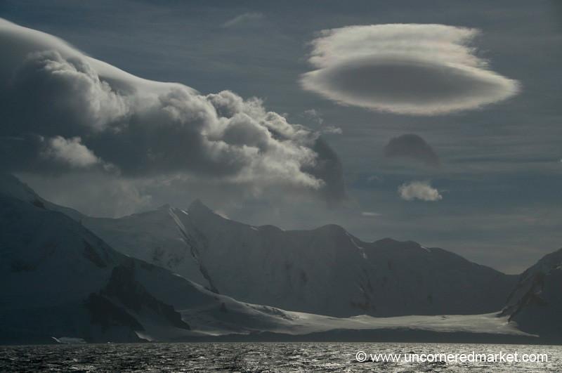 Curious Cloud Formations - Antarctica