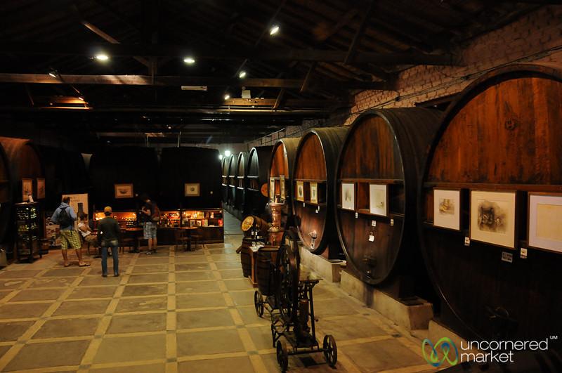 Tasting Room at La Rural Winery - Mendoza, Argentina
