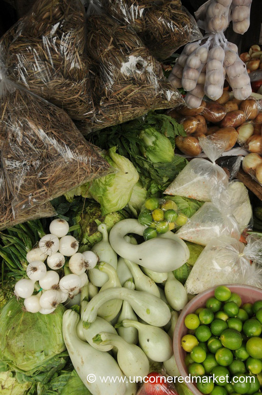 Well-Stocked Produce Stand - Granada, Nicaragua