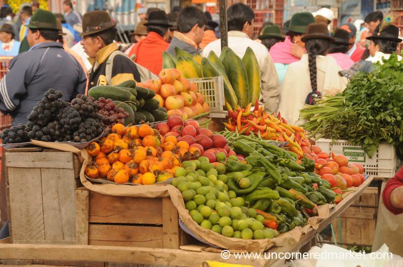 Fruits and Veggies - Saquisili, Ecuador