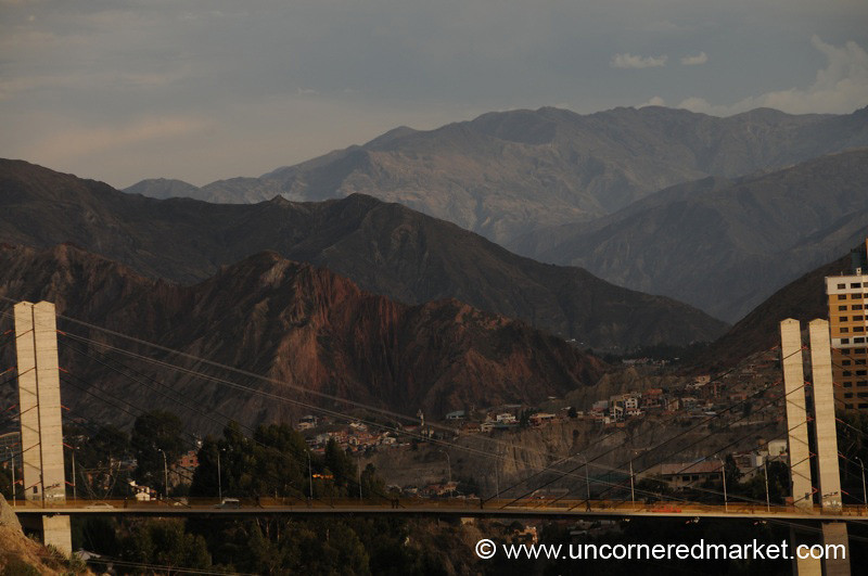 Peaks and Bridges - La Paz, Bolivia