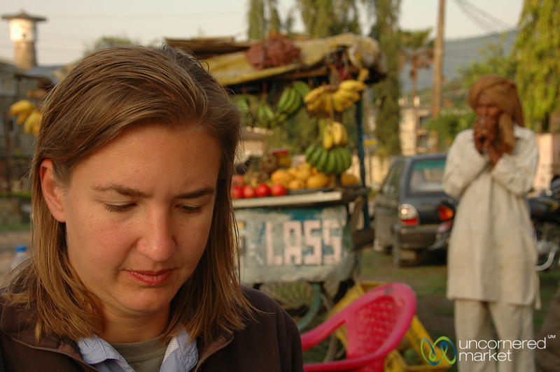 Audrey Gets Ready for the Annapurna Circuit - Nepal