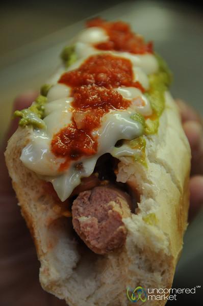 Italiano Completo at La Vega Market - Santiago, Chile