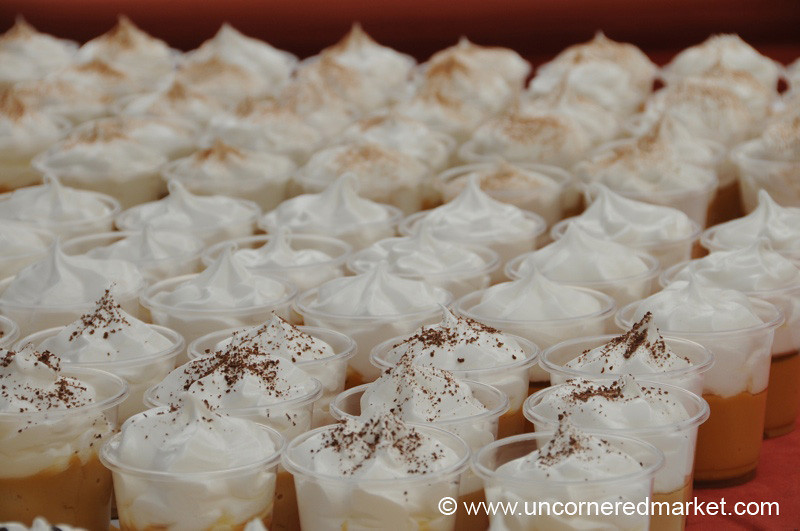 A Tray of Peruvian Desserts - Mistura Gastronomy Festival in Lima, Peru