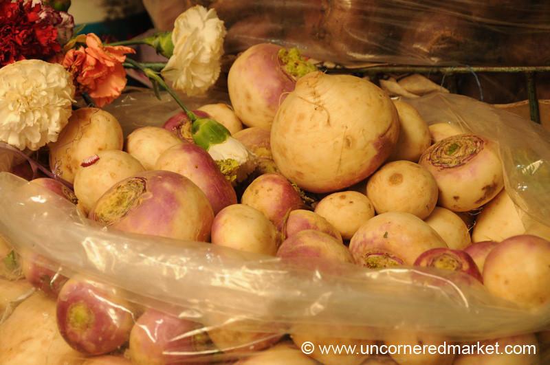 Turnips in Tupiza