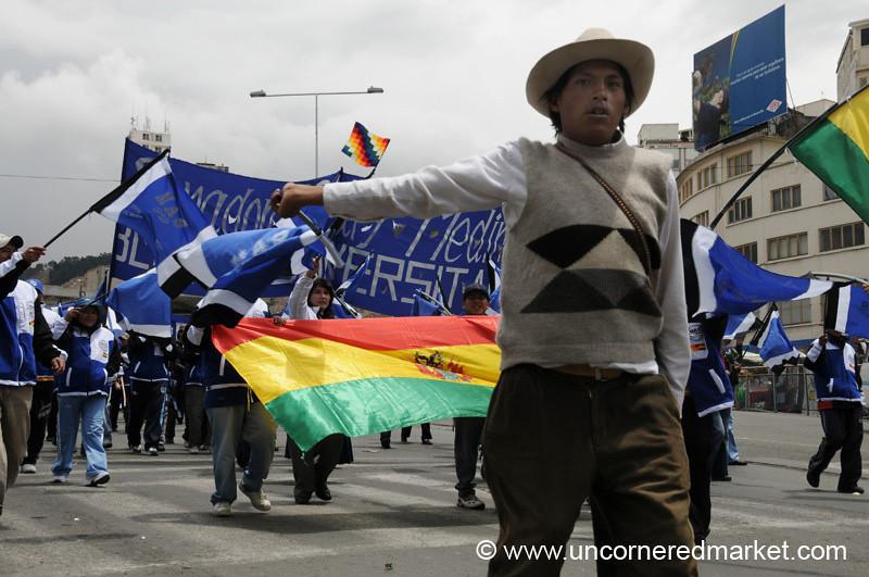Election March - La Paz, Bolivia