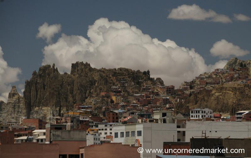 Crags and Sky - La Paz, Bolivia