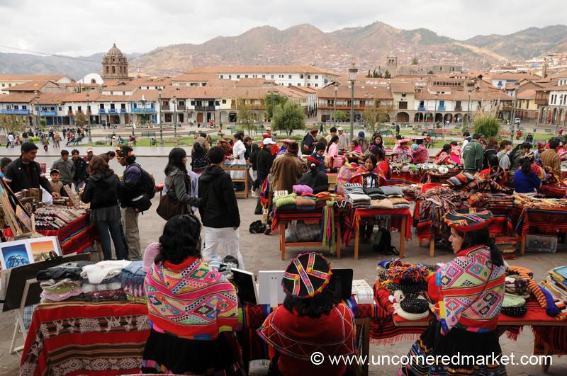 Monthly Crafts Market in Cusco, Peru