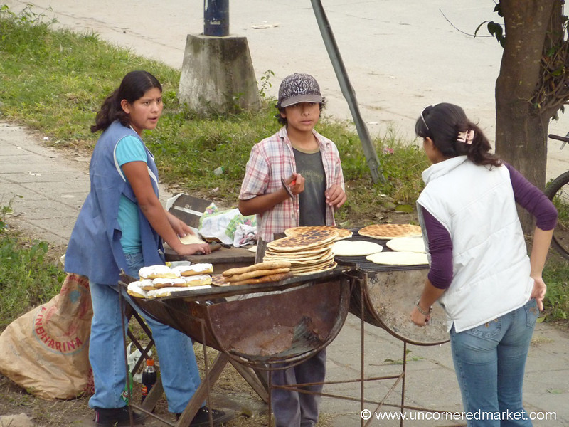 Street Food in Northern Argentina