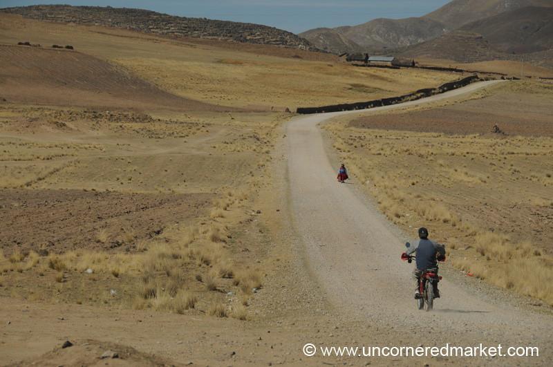 The Long Road Home - Puno, Peru to Copacabana, Bolivia
