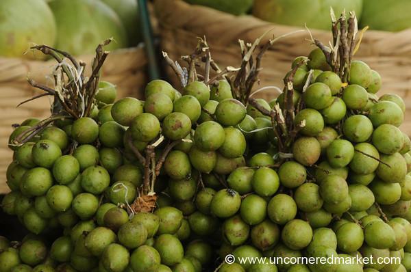 Mamoncillos in the Esteli Market