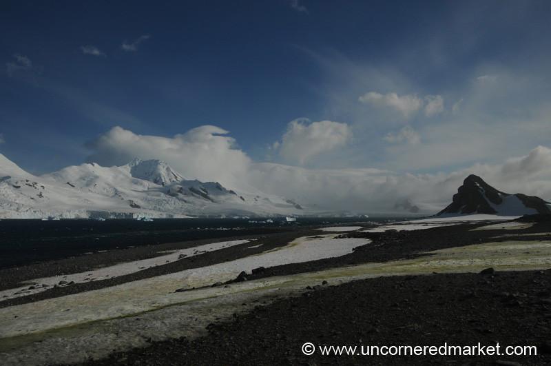Mountain Scenery at Half Moon Island - Antarctica