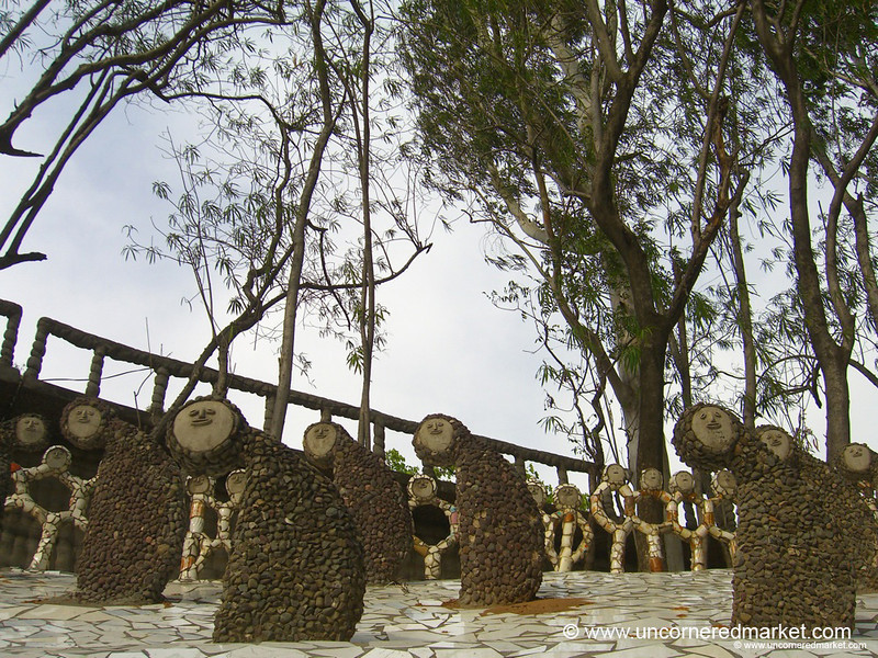 Little Creatures from Nek Chand's Rock Garden - Chandigarh, India