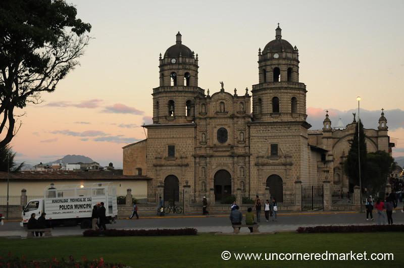 San Francisco Church II - Cajamarca, Peru