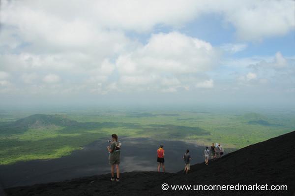 Photos Along the Edge - Cerro Negro Volcano, Nicaragua