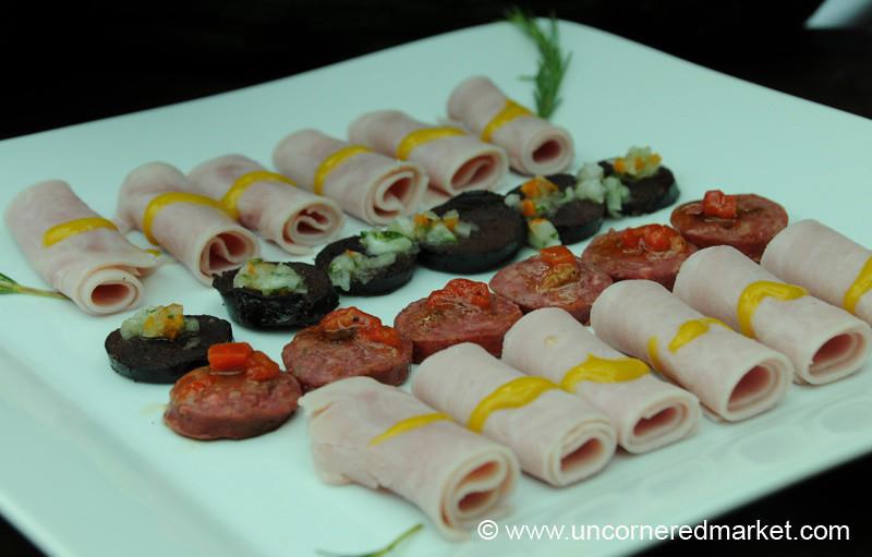 Variety of Meats - Mistura Gastronomy Festival in Lima, Peru