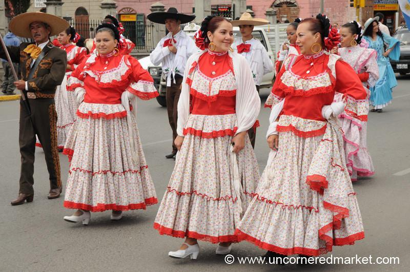 Mexican Folk Dancers - Cajamarca Peru