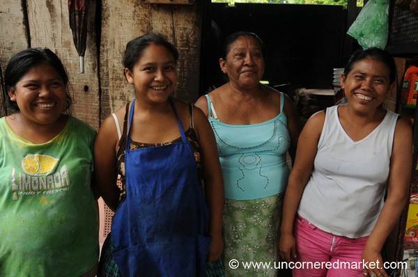 All the Ladies in the Family - Masaya, Nicaragua