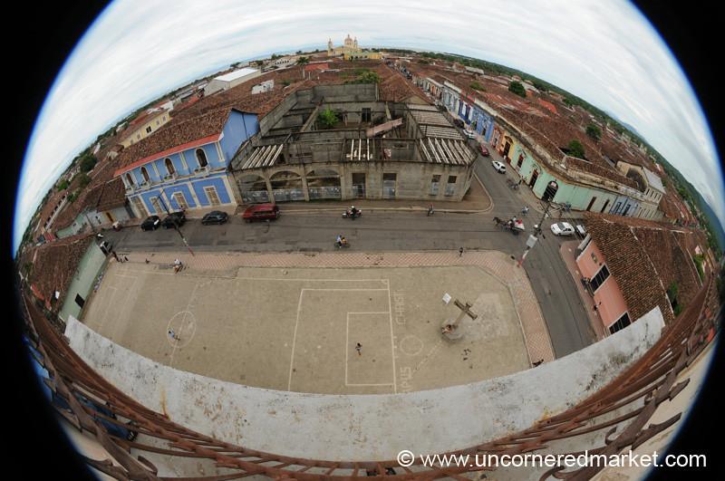 Fisheye View of Granada - Nicaragua