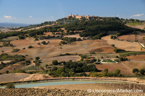 Tuscan Countryside and Pienza - Italy