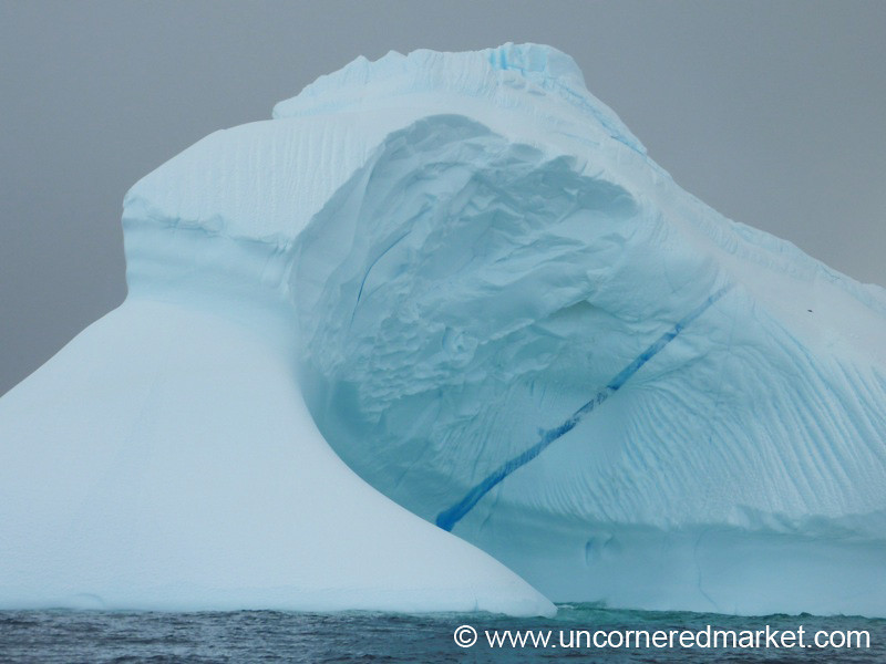 Spectacular Iceberg - Hanusse Bay, Antarctica