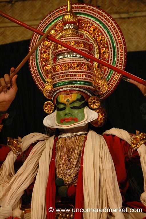 Kathakali Actor - Kochi, India