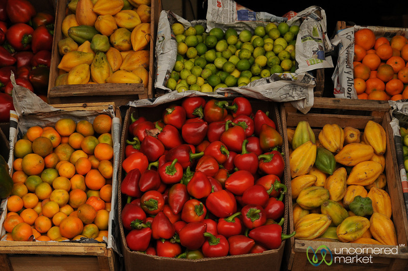 Chilean Market Assortment - Valparaiso, Chile