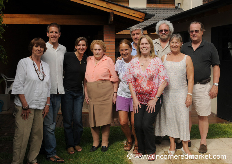 Meeting the Family - Buenos Aires, Argentina