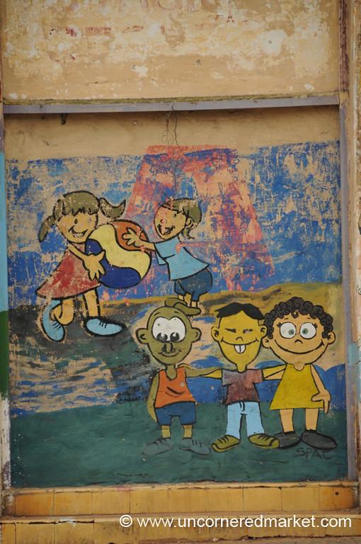 Diversity On the Playground - Asuncion, Paraguay