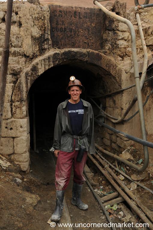 Back Above Ground - Potosi Mines, Bolivia